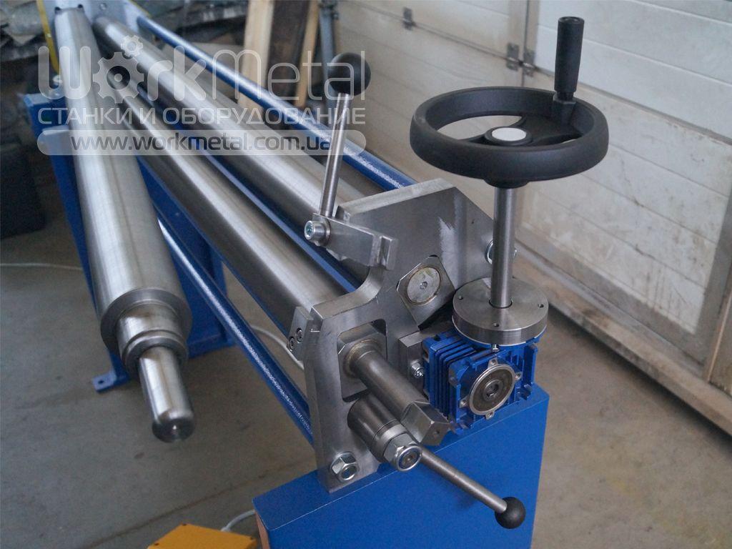 Вальцовочный станок для гибки тонколистового металла